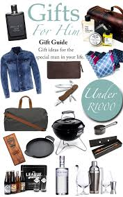 best gifts 2017 for him top online gift guide for him 2017 inspired living sa
