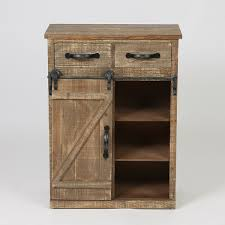 console cabinet with doors brown wood rustic sliding barn door console cabinet free shipping