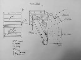 Plans For Building A Loft Bed With Stairs by Diy Bunk Bed With Rock Wall U0026 Slide Youtube