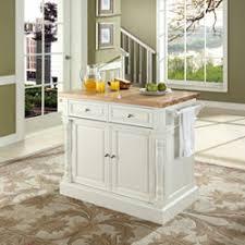 white kitchen island with butcher block top butcher block top kitchen island in white finish crosley furniture