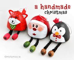 handmade christmas mollymoocrafts handmade christmas tree decorations