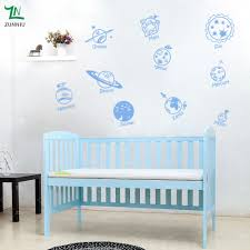 aliexpress com buy e423 wall stickers home decor diy poster aliexpress com buy e423 wall stickers home decor diy poster decal nursery mural vinyl personalise solar system spaceship in universe children from