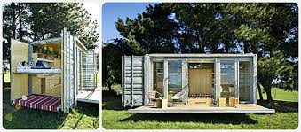 tiny container home w fold out front porch godownsize