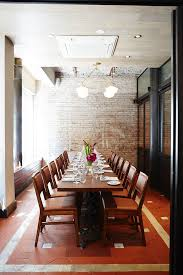 new private dining rooms in new york san francisco chicago and