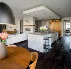 drop ceiling ideas kitchen contemporary with floor recessed