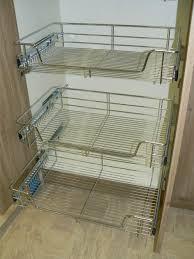 cabinet slide out wire baskets caravan slide out wire baskets