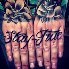 now this is a cute knuckle tatt for a not a fan of ones