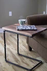 laptop desk for couch walnut you join me reclaimed wood side table laptop desk reclaimed