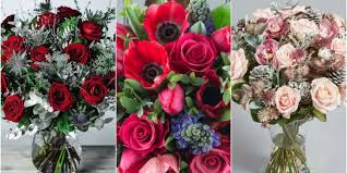 christmas flowers best christmas flowers best bouquet flower arrangements for uk