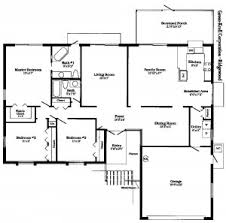 sle floor plans for houses house plan free sle floor plans 55 images free ranch style house