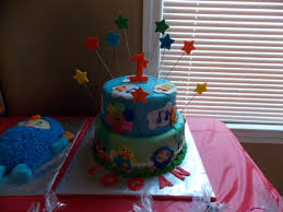 baby first tv first birthday cakes