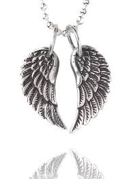 silver necklace wings images Tiny silver wing necklace by silver service jewellery jpg
