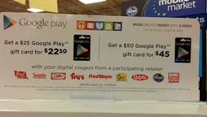 play digital gift card play gift cards android central