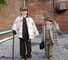 Sherlock Halloween Costumes Holmes U0026 Watson Boys Halloween Costume Idea