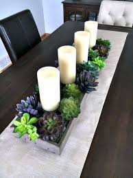 Centerpieces For Dining Room Table Dining Table Dining Room Table Decorations Succulents