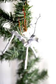 twig reindeer handmade ornaments