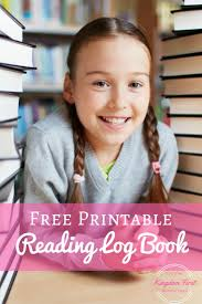 free printable reading log book for kids kingdom first homeschool