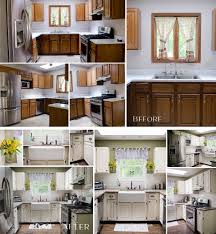 small kitchen make over asia painting glossy white over existing