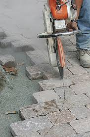 Cutting Patio Pavers A Concrete Paver Patio From The Bottom Up Fine Homebuilding