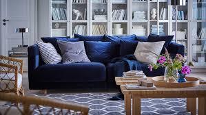 canap bleu roi je veux un salon bleu