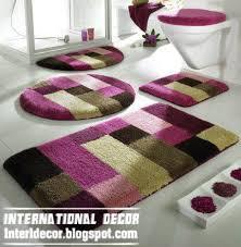 Designer Bathroom Sets Colors Interior Design 2014 10 Modern Bathroom Rug Sets Baths Rug Sets