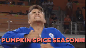 Pumpkin Spice Meme - pumpkin spice swimming gif by vidme find share on giphy