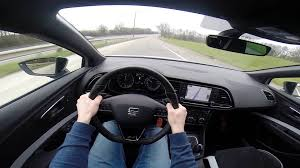 test drive 2016 seat cupra 290hp test drive gopro