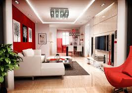 decorating with red curtains in your house