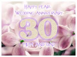 anniversary ecard wedding anniversary ecard 30 years greetingshare
