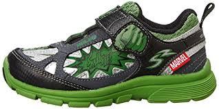 light up running shoes stride rite marvel avengers hulk light up athletic shoe