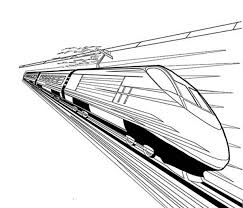 High Speed Train Coloring Page Color Luna Coloring Pages For High