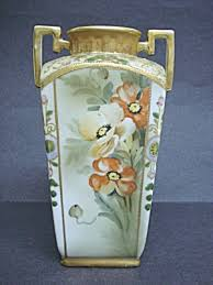 Antique China Vases Hand Painted Nippon Vase Antique Nippon Pinterest