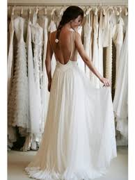 a line ivory backless lace wedding dresses prom dresses u2013 jbydress