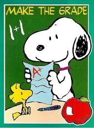 make the grade snoopy flag snoopn4pnuts