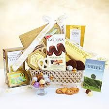sympathy gift basket healing sympathy gift basket gourmet gift