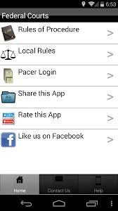 android app review federal courts the droid lawyer