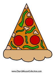 pizza printable cutout jesus craft for kids