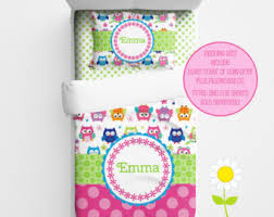 Personalized Girls Bedding by Personalized Candy Bedding For Kids Candy Gumball Duvet Or