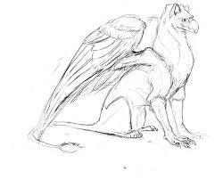 gryphon sketch u2014 weasyl