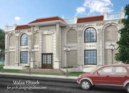 exterior design classic villas 764 أعمال الأعضاء by walaadesigns