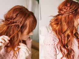 hair tutorial braided wavy boho hair tutorial a beautiful mess