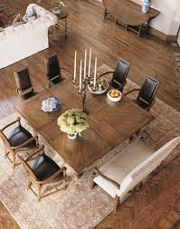 square dining table with bench square dining table with leaf dining room ideas