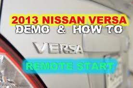 nissan versa 2013 remote start u0026 keyless entry by autotoys com
