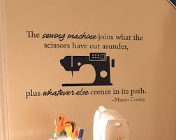 Sewing Room Wall Decor Sewing Quotes Etsy