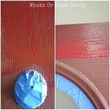 Red Door Paint by How To Paint A Front Door