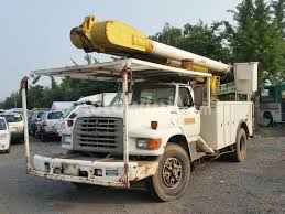 used ford work trucks for sale used trucks 1995 ford electric work truck aerial lift trucks for