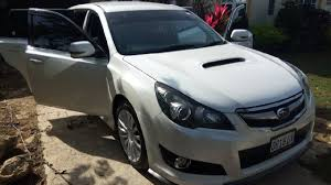 white subaru wagon 2011 subaru legacy touring wagon s gt for sale in st james st