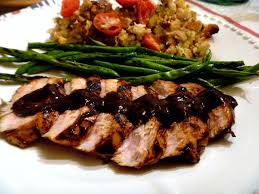 slice of southern thanksgiving in august grilled turkey with a