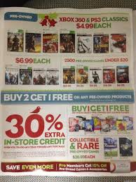 gamestop thanksgiving sale gamestop 2013 black friday ad leaked