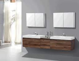 modern bath vanity cabinets wooden framed mirror white pendant